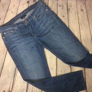 Levi's Low Skinny Flood Jeans